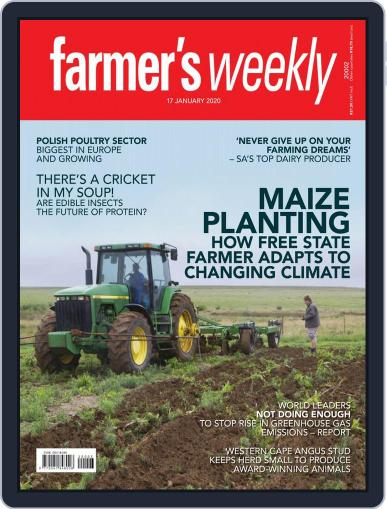 Farmer's Weekly (Digital) January 17th, 2020 Issue Cover