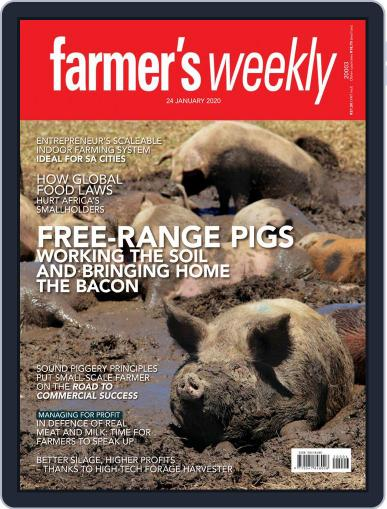 Farmer's Weekly (Digital) January 24th, 2020 Issue Cover