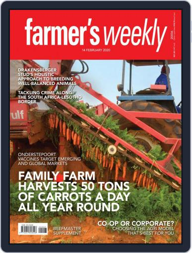 Farmer's Weekly (Digital) February 14th, 2020 Issue Cover