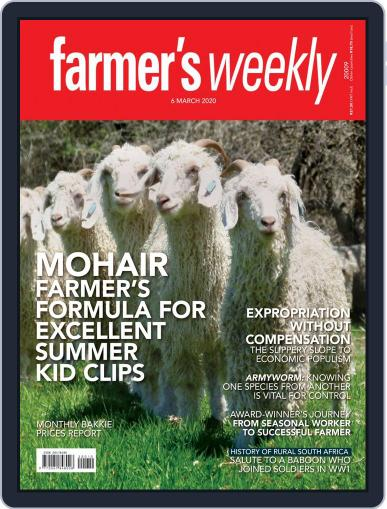 Farmer's Weekly (Digital) March 6th, 2020 Issue Cover