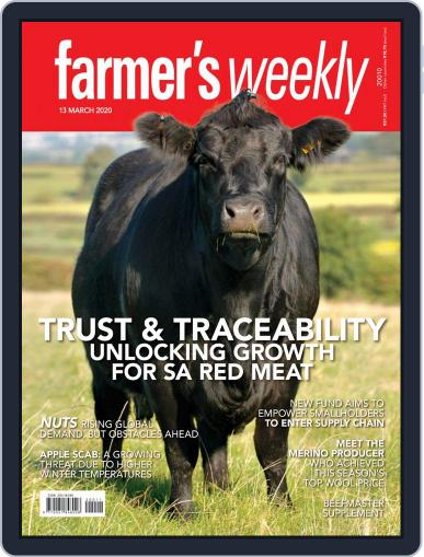 Farmer's Weekly (Digital) March 13th, 2020 Issue Cover