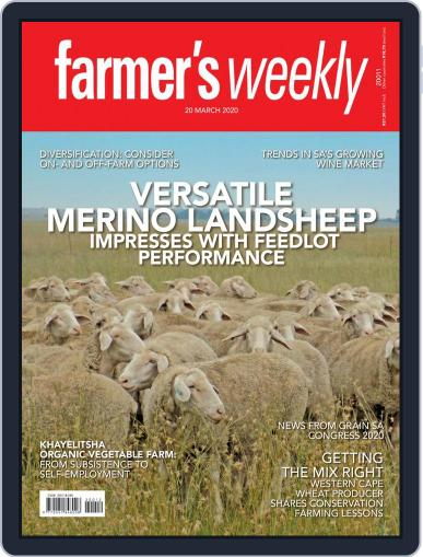 Farmer's Weekly (Digital) March 20th, 2020 Issue Cover