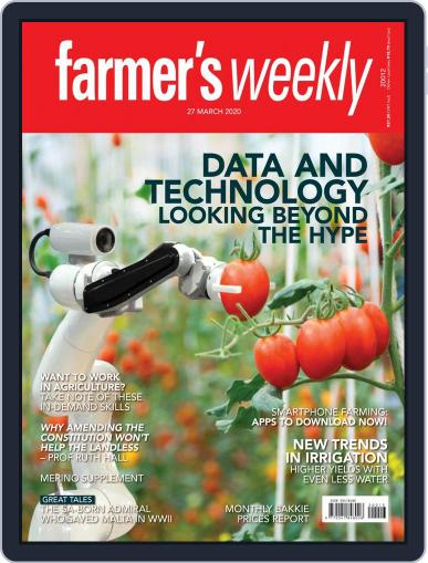 Farmer's Weekly (Digital) March 27th, 2020 Issue Cover