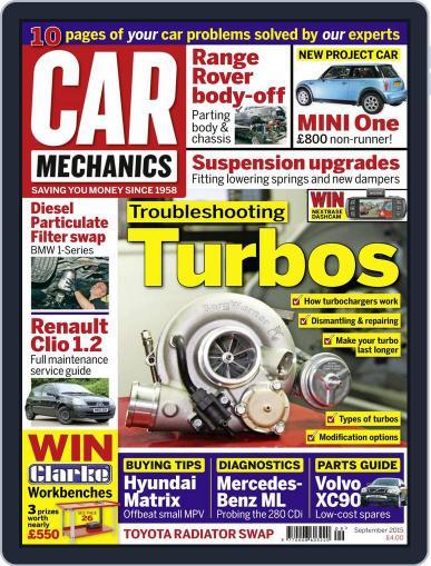 Car Mechanics September 1st, 2015 Digital Back Issue Cover