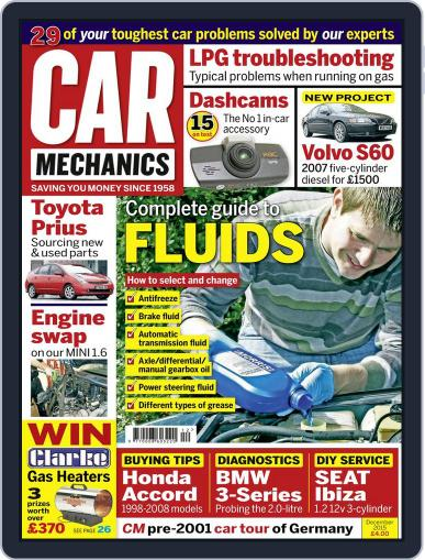 Car Mechanics December 1st, 2015 Digital Back Issue Cover