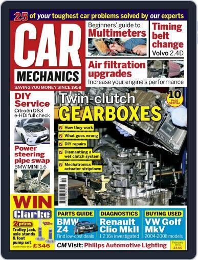 Car Mechanics (Digital) February 1st, 2016 Issue Cover