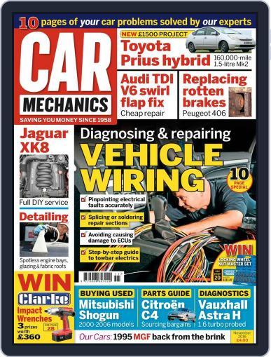Car Mechanics (Digital) November 1st, 2016 Issue Cover