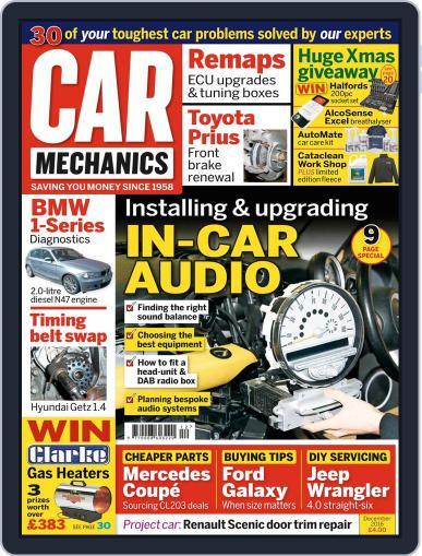 Car Mechanics December 1st, 2016 Digital Back Issue Cover