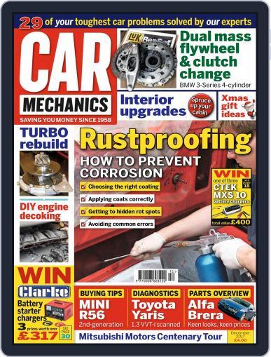 Car Mechanics (Digital) December 1st, 2017 Issue Cover