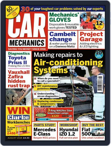 Car Mechanics (Digital) August 1st, 2018 Issue Cover