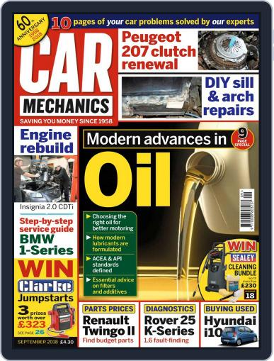Car Mechanics (Digital) September 1st, 2018 Issue Cover