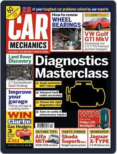 Car Mechanics October 1st, 2018 Digital Back Issue Cover