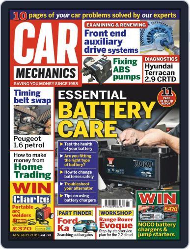 Car Mechanics (Digital) January 1st, 2019 Issue Cover