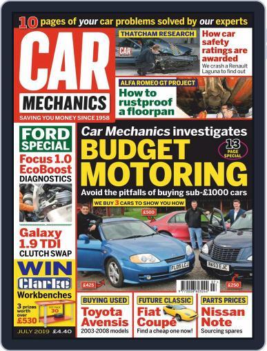 Car Mechanics July 1st, 2019 Digital Back Issue Cover