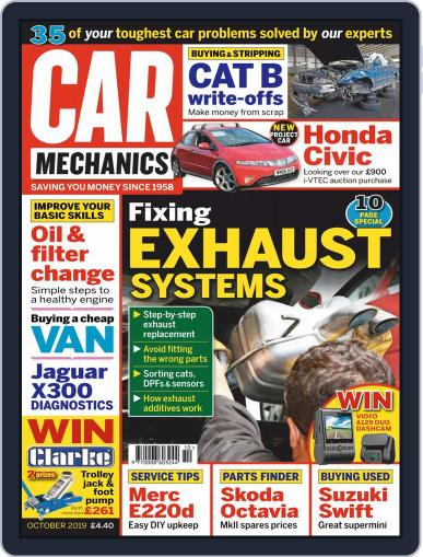 Car Mechanics (Digital) October 1st, 2019 Issue Cover