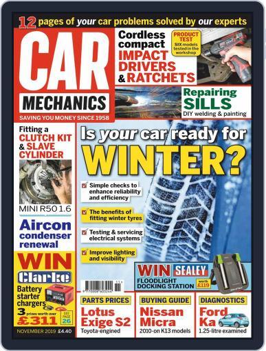 Car Mechanics (Digital) November 1st, 2019 Issue Cover