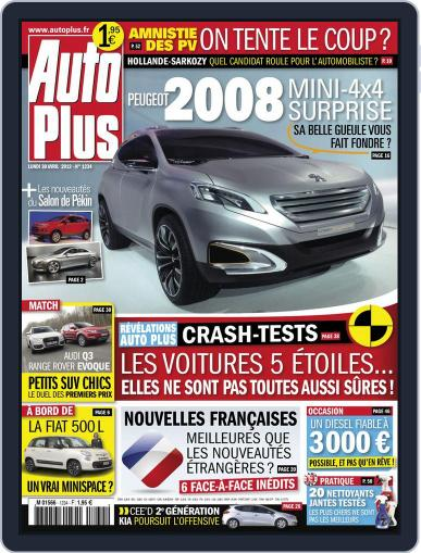 Auto Plus France (Digital) April 29th, 2012 Issue Cover