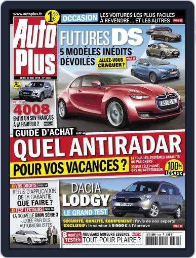 Auto Plus France May 18th, 2012 Digital Back Issue Cover