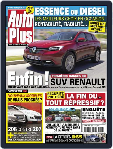 Auto Plus France (Digital) May 20th, 2012 Issue Cover
