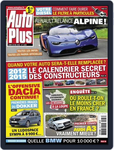 Auto Plus France May 27th, 2012 Digital Back Issue Cover