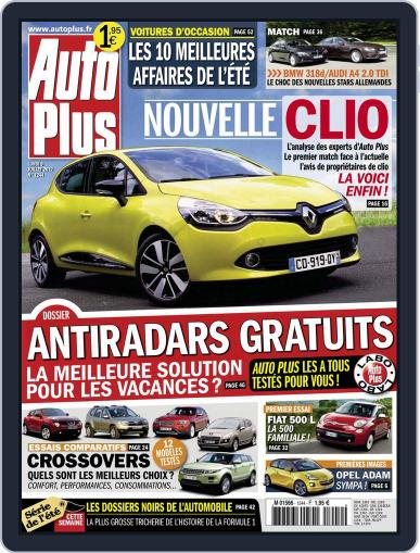 Auto Plus France July 8th, 2012 Digital Back Issue Cover