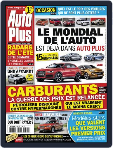 Auto Plus France (Digital) July 15th, 2012 Issue Cover