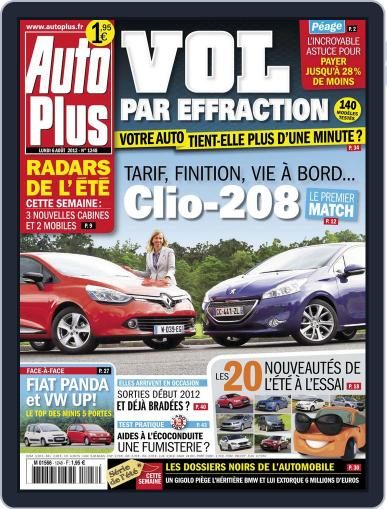 Auto Plus France (Digital) August 5th, 2012 Issue Cover