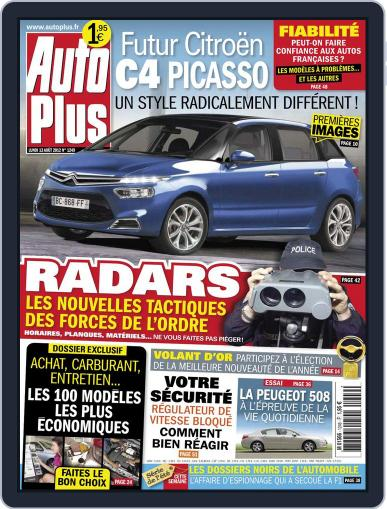 Auto Plus France (Digital) August 13th, 2012 Issue Cover
