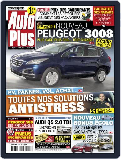 Auto Plus France (Digital) August 26th, 2012 Issue Cover