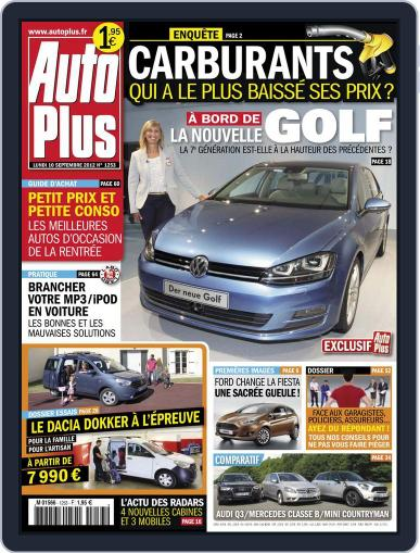 Auto Plus France (Digital) September 10th, 2012 Issue Cover