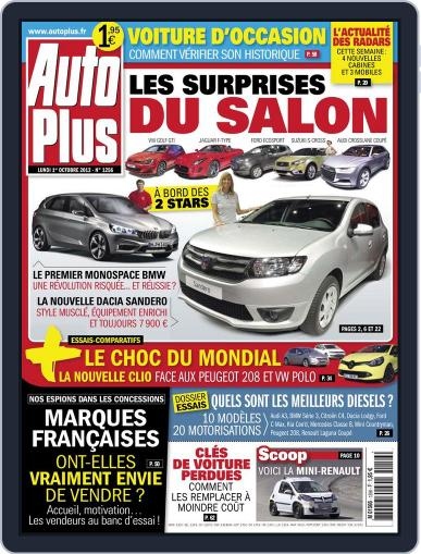 Auto Plus France September 30th, 2012 Digital Back Issue Cover