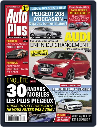 Auto Plus France (Digital) October 28th, 2012 Issue Cover