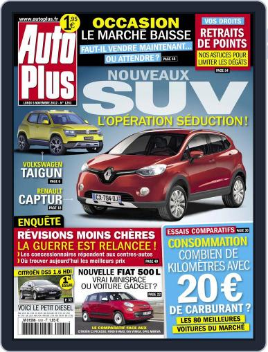 Auto Plus France (Digital) November 4th, 2012 Issue Cover