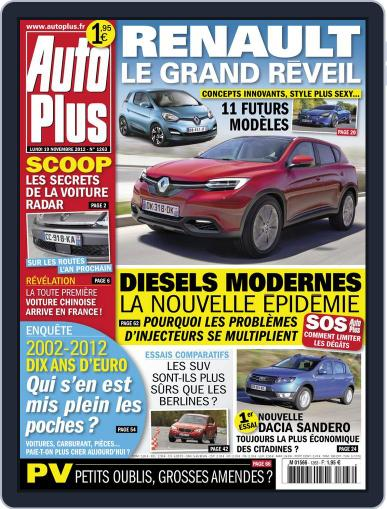Auto Plus France (Digital) November 18th, 2012 Issue Cover