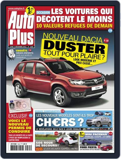 Auto Plus France (Digital) December 3rd, 2012 Issue Cover
