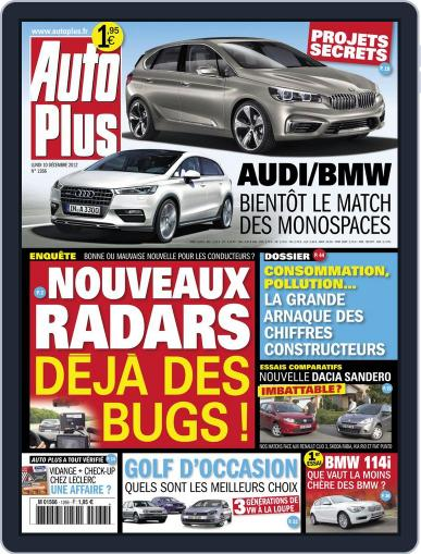 Auto Plus France December 9th, 2012 Digital Back Issue Cover