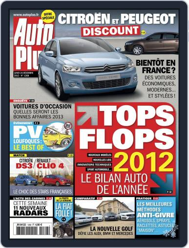 Auto Plus France December 23rd, 2012 Digital Back Issue Cover