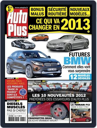 Auto Plus France (Digital) December 31st, 2012 Issue Cover