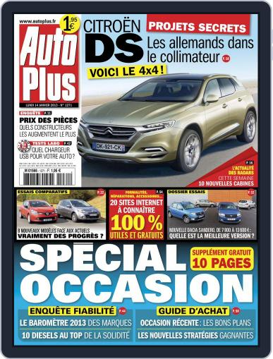 Auto Plus France (Digital) January 13th, 2013 Issue Cover