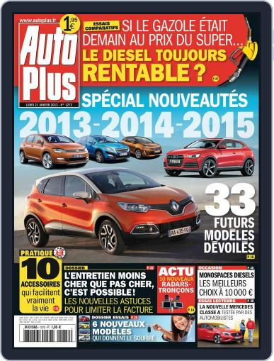 Auto Plus France (Digital) January 20th, 2013 Issue Cover