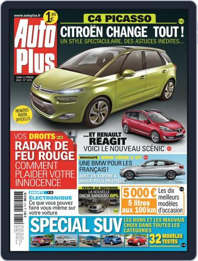 Auto Plus France (Digital) February 10th, 2013 Issue Cover