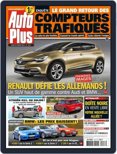 Auto Plus France (Digital) February 26th, 2013 Issue Cover
