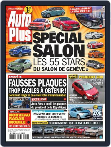 Auto Plus France (Digital) March 3rd, 2013 Issue Cover