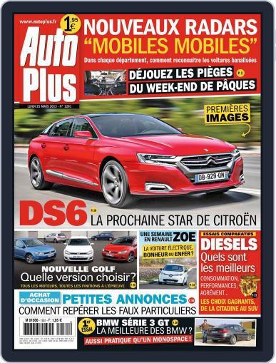 Auto Plus France (Digital) March 24th, 2013 Issue Cover