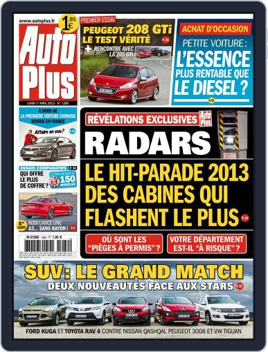 Auto Plus France (Digital) March 31st, 2013 Issue Cover