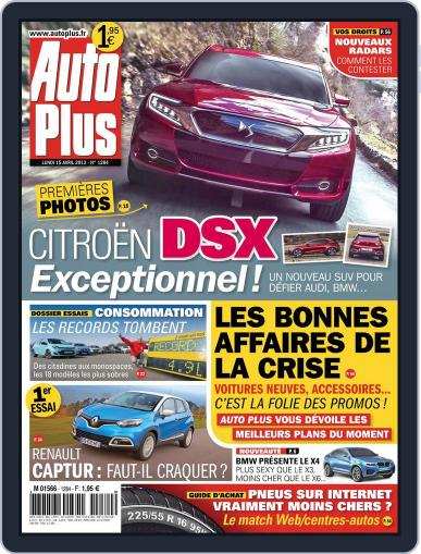 Auto Plus France (Digital) April 14th, 2013 Issue Cover