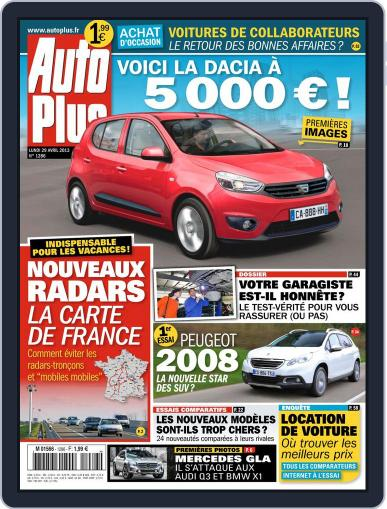 Auto Plus France April 28th, 2013 Digital Back Issue Cover