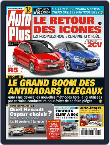 Auto Plus France (Digital) May 19th, 2013 Issue Cover