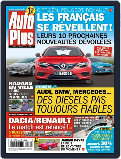 Auto Plus France (Digital) May 26th, 2013 Issue Cover