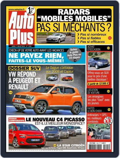 Auto Plus France (Digital) July 1st, 2013 Issue Cover